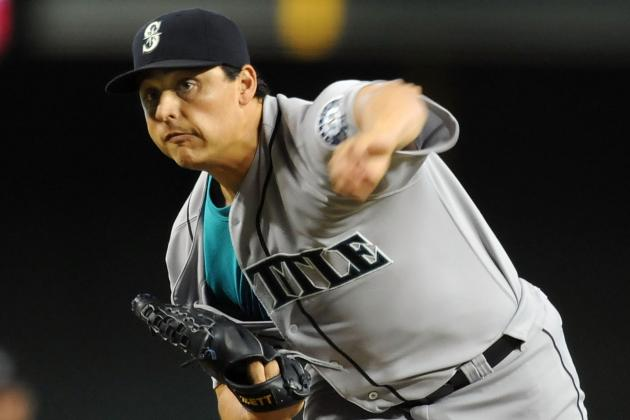 Jason Vargas: Seattle Mariners Lefty Takes Home AL Worst of the Night Award