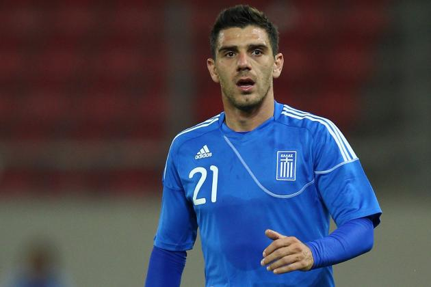 Germany vs. Greece: Why Kostas Katsouranis Can Lead Greeks to Victory