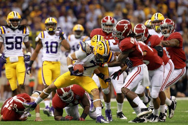 LSU or Alabama in 2012? Betting Website Says Their Odds to Win SEC Are Identical