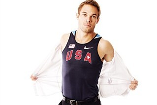 Olympic Runner Nick Symmonds Has Dream Date with Paris Hilton