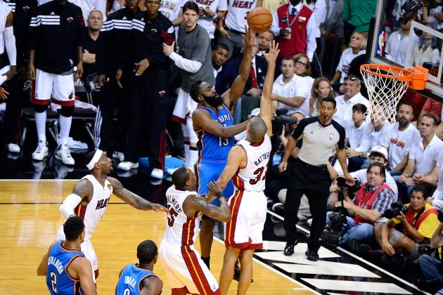 NBA Finals 2012: LeBron's Cramps and the Play That Won Game 4