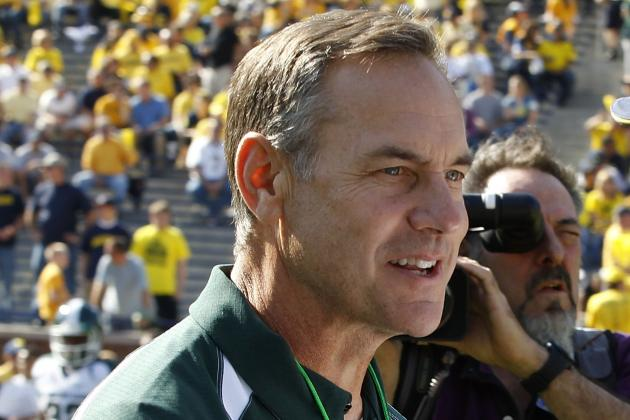 MSU Football: Dantonio Believes in Burbridge