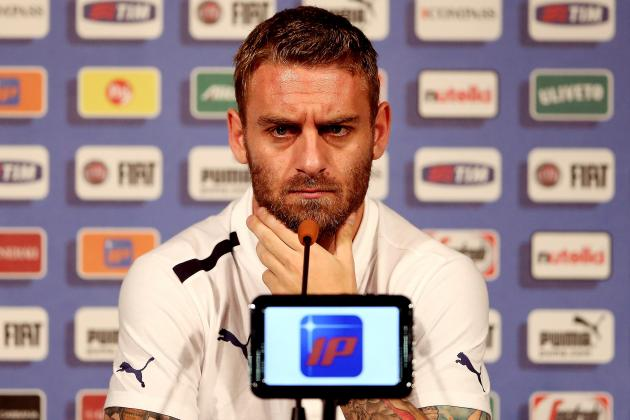 Roma Midfielder Daniele De Rossi Tempted by Premier League