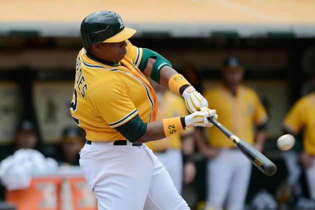 Yoenis Cespedes 3-Run Walkoff Home Run Completes Sweep for A's over Dodgers