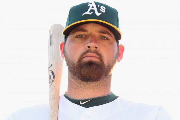 Oakland Athletics Catcher Derek Norris Looks the Part of Big League Catcher