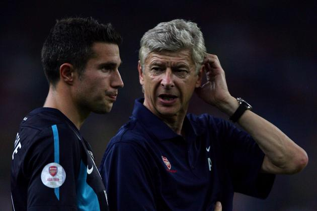 Arsenal Transfer Rumours: Why Van Persie's Standoff Could Save Arsenal's Legacy