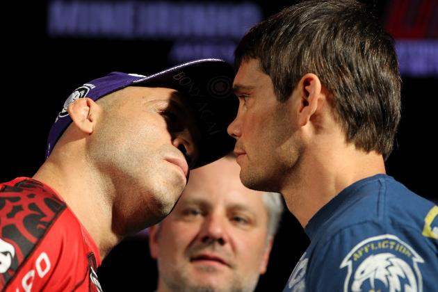 UFC 147 Weigh-In Results for Wanderlei Silva vs. Rich Franklin Fight Card