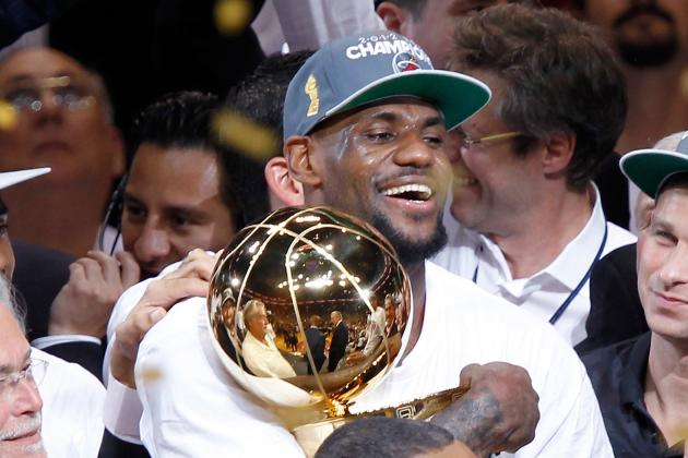 NBA Finals 2012 MVP: LeBron James Takes Home Coveted Award