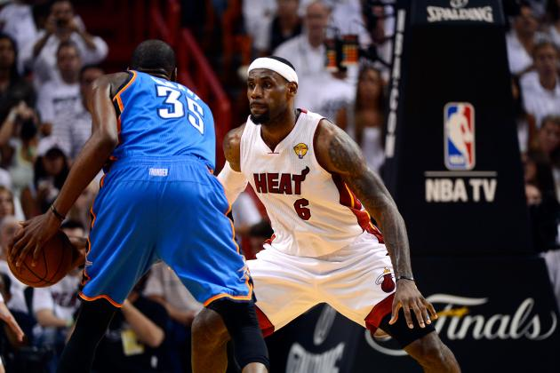 Heat vs. Thunder Highlights: Recapping Best Moments of 2012 NBA Finals