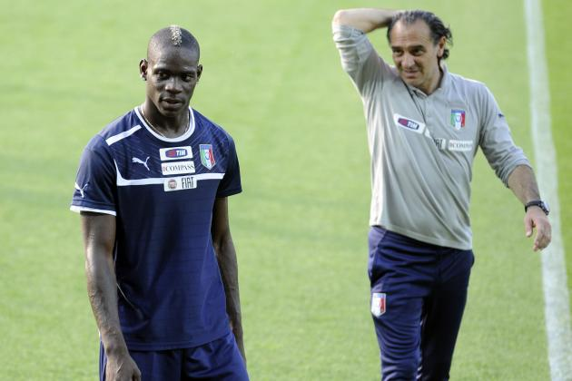'Don't Be a Pain in the A*** for Prandelli': Mancini Issues Plea to Balotelli