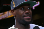 LeBron on Title: 'It's About Damn Time'
