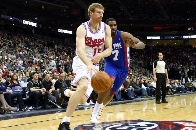 Erazem Lorbek, Matt Bonner and DeJuan Blair