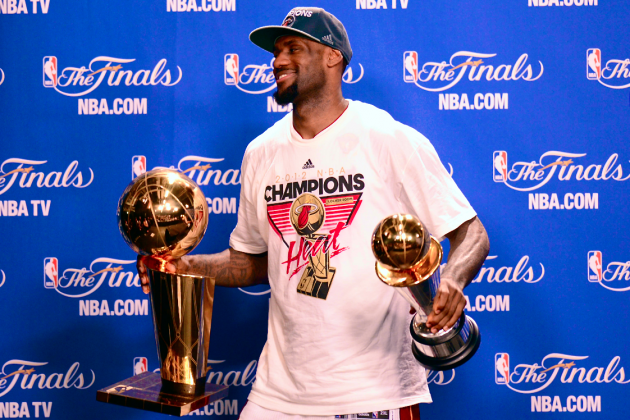 LeBron James Ends Best-Player Debate with Dominant Playoff Run, 2012 NBA Finals