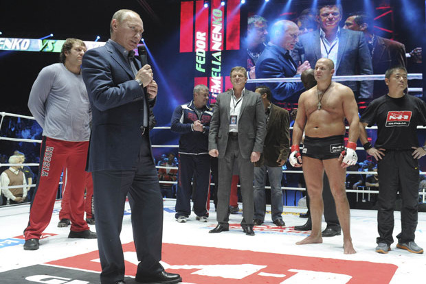 Fedor Emelianenko: Vladimir Putin Thanks Him for Promoting MMA in Russia