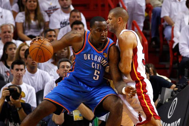 Report: Kendrick Perkins Played Through Torn Groin Muscle in Playoffs
