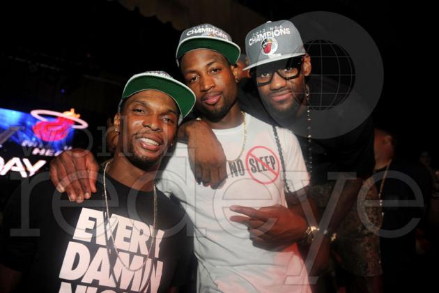 Miami Heat Celebrate at Club LIV: The 5 Best Moments