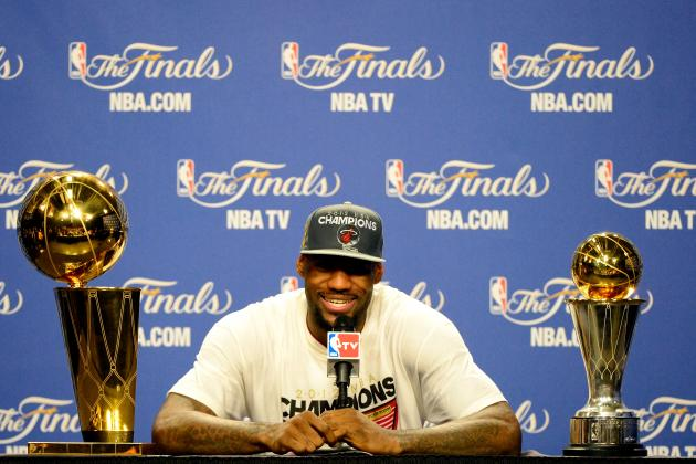 NBA Finals 2012:  Message to LeBron James Haters...Shhhh