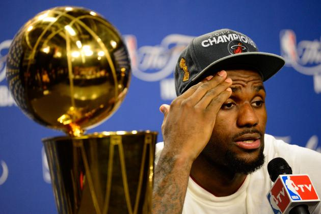 Why Did LeBron James Curse in His Final Press Conference Quote?