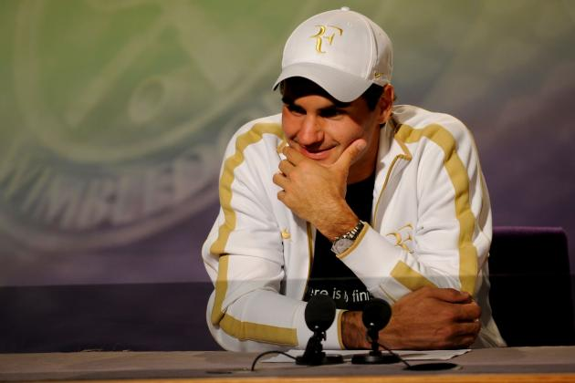 Wimbledon 2012 Draw: How the Draw Sets Up Well for Roger Federer