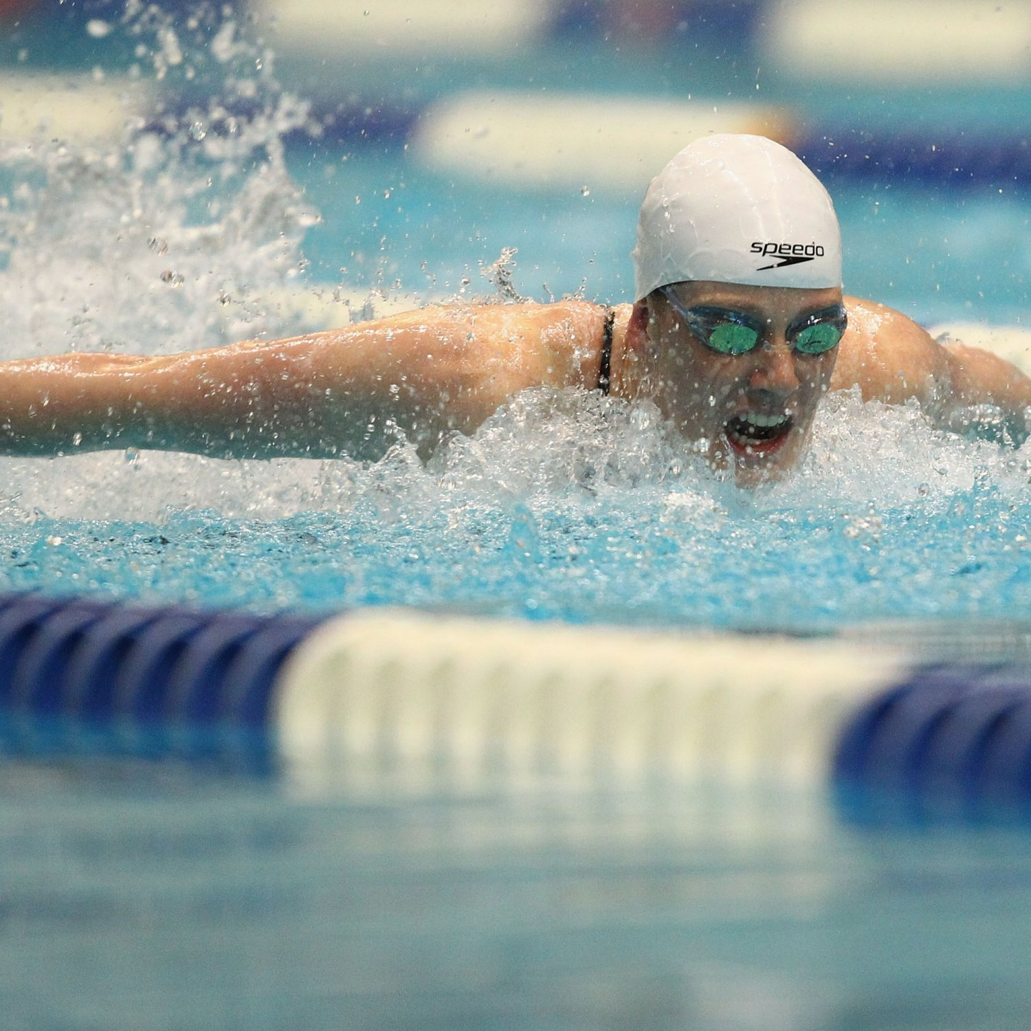 Olympic Swimming Pool In Person: US Olympic Swimming Trials 2012: Missy Franklin Set To Be