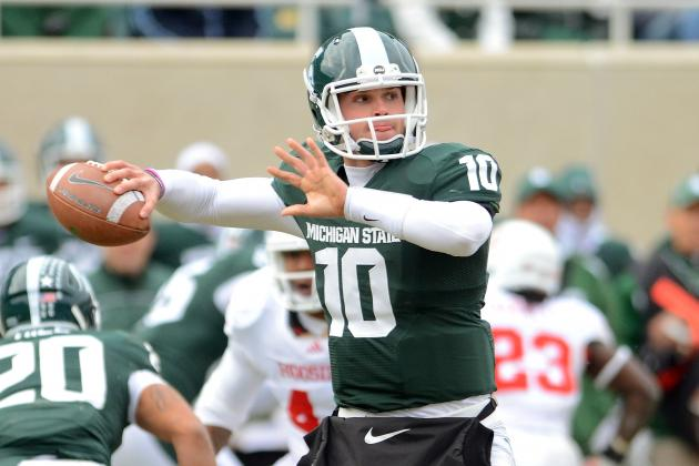 Big Ten Football Top 150 Players, No. 103: Andrew Maxwell, Michigan State QB