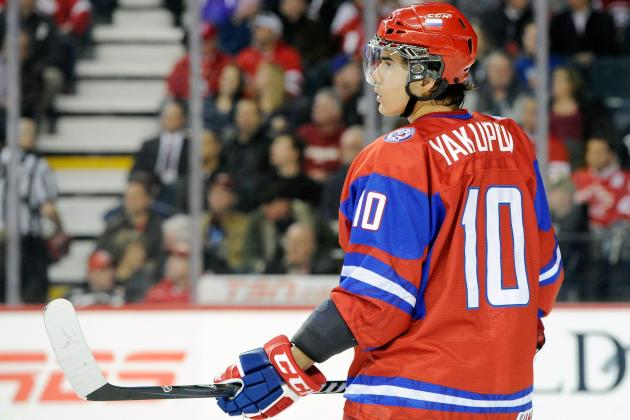 NHL Draft 2012: Edmonton Oilers Selects Nail Yakupov with No. 1 Overall Pick