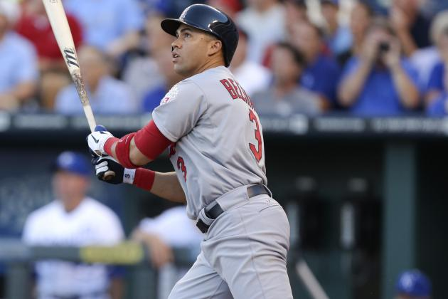 Cards' Beltran Erupts vs. Royals in Return to KC