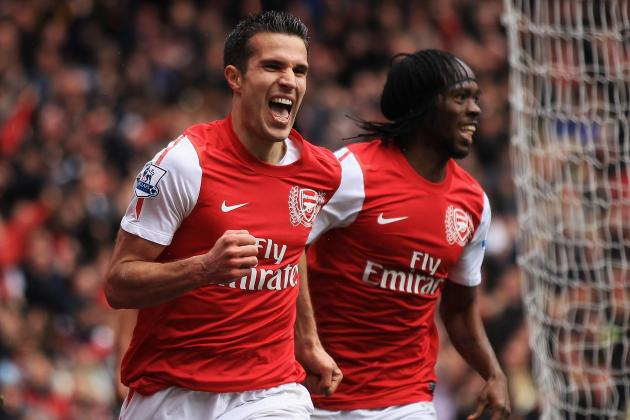 Manchester City Set to Make Bid for Arsenal Striker Robin Van Persie