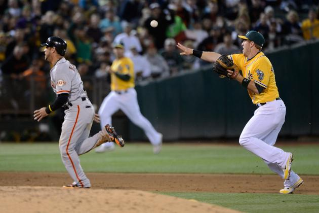 San Francisco Giants: 9th Inning Comeback Beats A's in Bay Bridge Series Opener