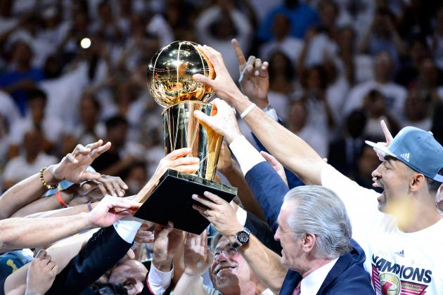 NBA Championship Power Rankings: 2012 Miami Heat vs. Last 25 NBA Champs