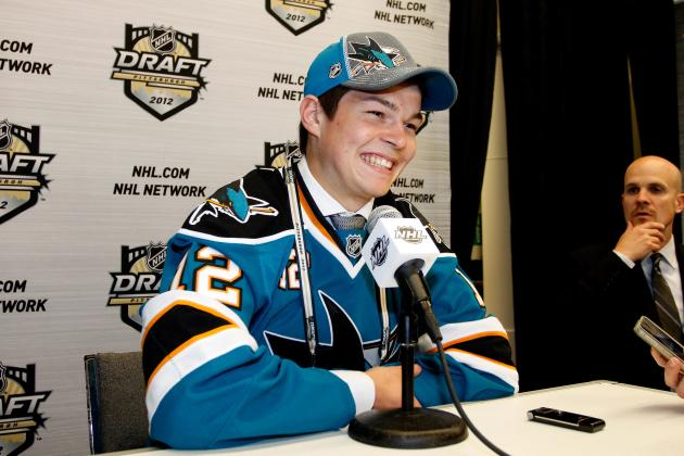 2012 NHL Draft Grades: Sharks and Teams That Drafted Poorly in the 1st Round