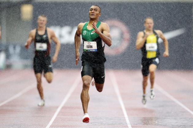 US Olympic Track Trials 2012: Ashton Eaton Breaks Two Records on Decathlon Day 1