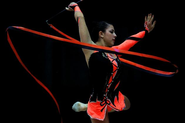 London 2012: Lone US Rhythmic Gymnast Julie Zetlin Heads to Summer Olympics