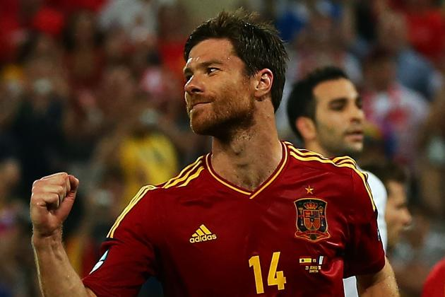 Spain vs. France Euro 2012 Match Report: Xabi Alonso Double Sends Spain Through