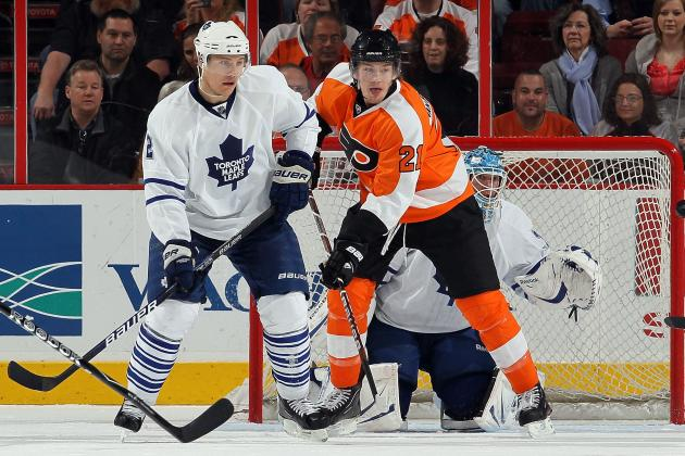 Maple Leafs Trade Luke Schenn to Flyers for James van Riemsdyk