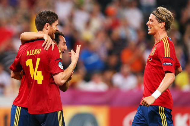 Euro 2012 Results: Spain Is Team to Beat After Dominating Performance