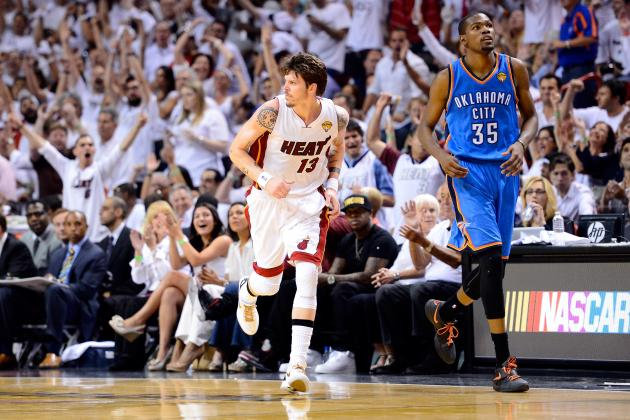 NBA Finals 2012: Veteran Mike Miller Played Big in Game 5 Despite Injury Woes
