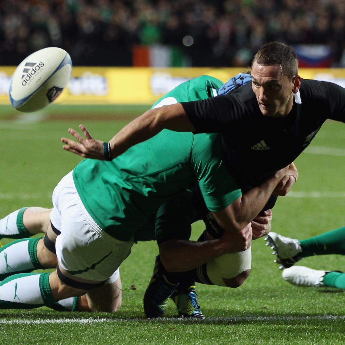 Ireland Vs. All Blacks: New Zealand Dominate In