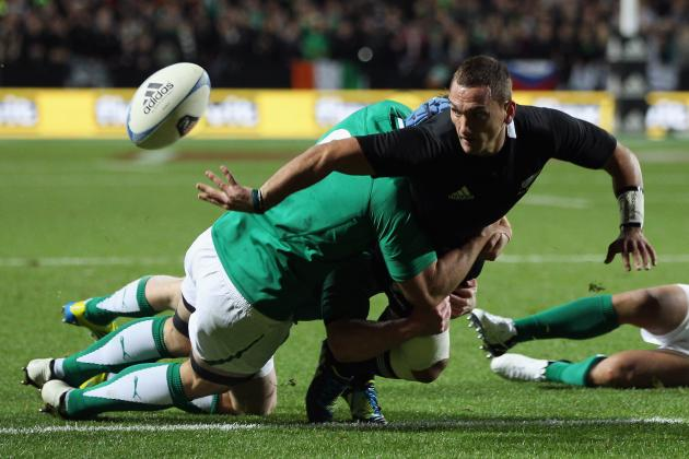 Ireland vs. All Blacks: New Zealand Dominate in Annihilating Rugby Perfomance