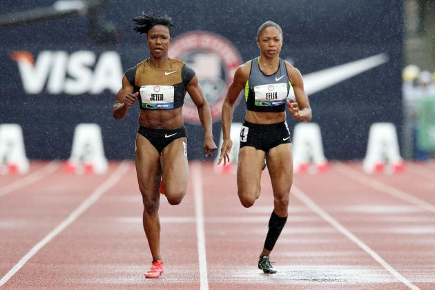 US Olympic 2012 Track Trials: Felix & Tarmoh Race to Shocking Tiebreaker