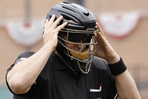 MLB Umpire Head Injury: Mask vs. Helmet Debate and the Value of Tradition