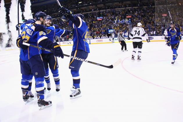 St. Louis Blues: Analysis of the 2012-13 NHL Schedule
