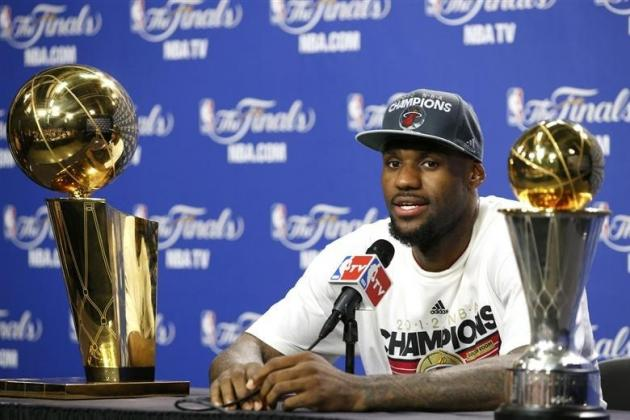 LeBron's Championship Win Makes the World a Better Place for You and Me