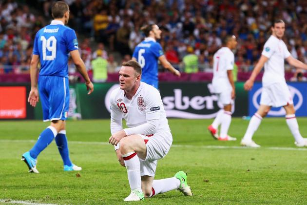 Wayne Rooney: England Star Not to Blame for Crushing Defeat Against Italy