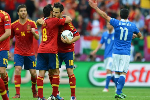 Euro 2012 Results: Traditional Powers Dominate Tournament's Final Four
