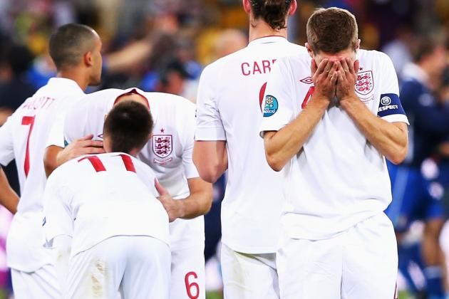 England vs. Italy Euro 2012: Hapless England Crumble in Penalty Shootout