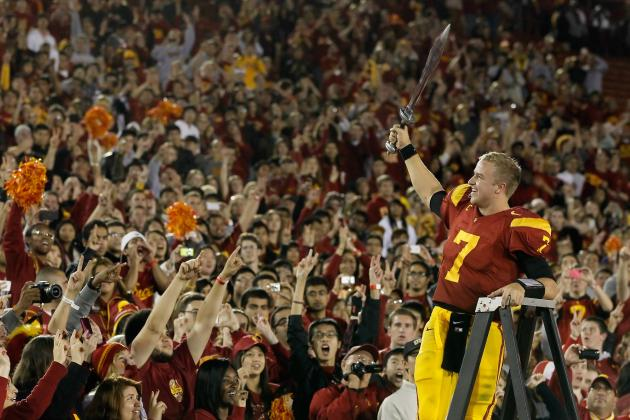 USC Football: Why Heisman Trophy Is Matt Barkley's to Lose