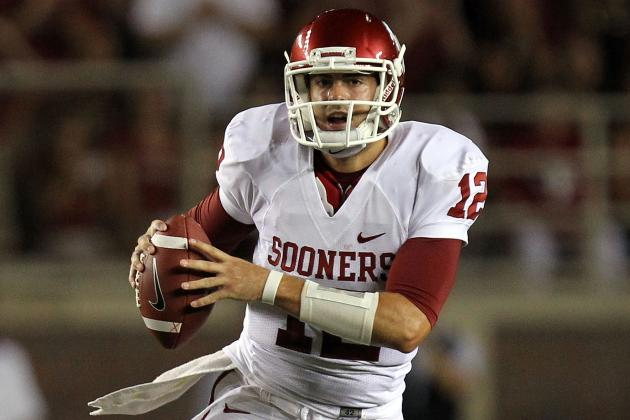 College Football 2012: Landry Jones vs. Geno Smith, Who's the Better Big 12 QB?