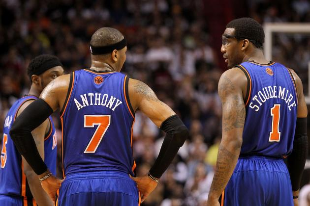 Knicks Must Keep the Carmelo Anthony-Amar'e Stoudemire Duo Together