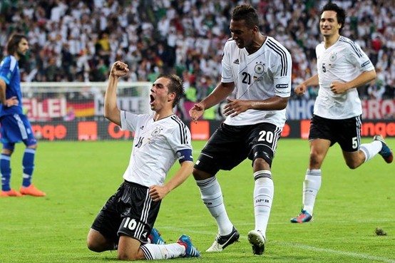 UEFA Euro 2012: Germany Won the Quarterfinal and Now They Want It All